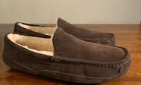 UGG ASCOT 1101110 MEN'S SLIPPERS, ESPRESSO SUEDE NEW* SIZE 11, NEW, WARMTH STYLE