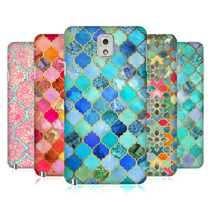 OFFICIAL MICKLYN LE FEUVRE MOROCCAN HARD BACK CASE FOR SAMSUNG PHONES 2