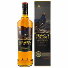 The Famous Grouse Smoky Black Blended Scotch Whisky 0,7l, alc. 40 Vol.-%