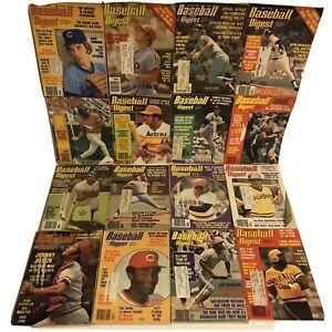 Baseball Digest Lot of 38 issues 1975-1979 Major League Baseball