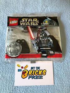 Lego Star Wars sw218promo Chrome Darth Vader 10 yr Ann Polybag New/Sealed/H2F