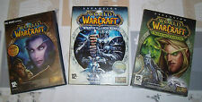 "JUEGO PC""PACK WORLD WARCRAFT+EXPANSION WRATH OT THE LICH KING Y BURNING CRUSADE"""