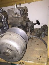 1974 Polaris TX 250 F/A Motor Engine Good Used Free Air Vintage Snowmobile Motor