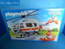 Playmobil 6686 salvamento helicóptero City Life helicóptero Rescue nuevo embalaje original