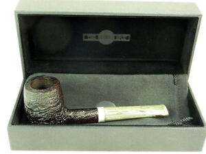 Brand new briar pipe DUNHILL 4103 Shell Briar Silver Ring pfeife Tobacco Pipe