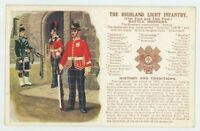 Highland Light Infantry, Gale & Polden History & Traditions Postcard, C006