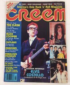 CREEM May 1979 Elvis Costello Sid Vicious RIP Ramones 74 pgs Music Magazine VGC