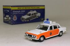Atlas Editions; Triumph 2000 Police; Lancashire Constabulary; Sealed & Boxed