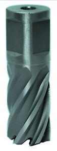 HSS-XE Kernlochbohrer 12 - 45 mm Weldon Metall Schnitttiefe 25mm von Karnasch