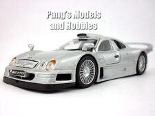 Mercedes-Benz CLK GTR 1/26 Scale Diecast Metal Model by Maisto - SILVER