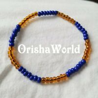 Stretch Elastic Pulsera Ochosi Oshosi Oxossi Santeria bracelet Ilde Ide Idde