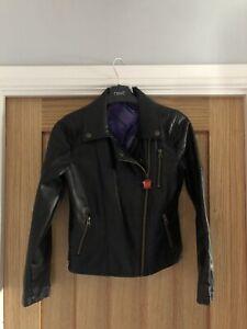 Disney Store Descendants Leather Look Jacket Age 9-10