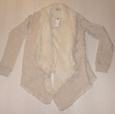 BNWT HOLLISTER OATMEAL SOFT FUR LINED TOP SIZE XS/S RRP £49