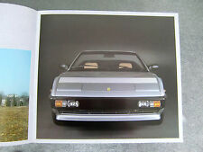 Ferrari Mondial Cabrio Prospekt Brochure