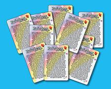 """""""Rainbow Bridge"""" Poem - 10 Memorial Pet Loss cards - Mini Verse Cards - sku# 977"""