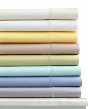 martha stewart collection 300 tc 100 cotton sateen queen fitted sheet white
