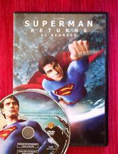 SUPERMAN RETURNS, El Regreso (Brandon Routh, Kate Bosworth, Kevin Spacey). DVD