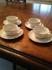 VINTAGE DEMI TASSE SET (VERBOMO) GOLD TRIM