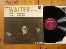 Dvorak Symphony No. 4/Schubert Symphony No. 5 BRUNO WALTER LP PHILIPS