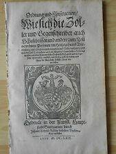 Zoll 1669 Steuer Rößlin Stuttgart 1669 Wolle Holz Vieh Hopfen Pferde Zollamt