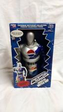 PEPSI MAN PEPSIMAN FIGURE SOUND BIG BOTTLE CAP LIMITED 1999 30cm