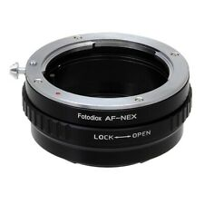 Fotodiox Lens Adapter Sony Alpha A (and Minolta AF) to Sony Alpha E-Mount Camera