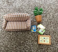 Sylvanian Families - Father at home set Sofa And Accessories Only