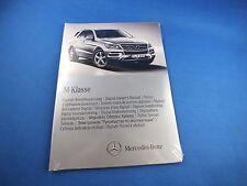 Original Mercedes clase M 2012 digital manual de instrucciones de CD 1665848081 w166 ml