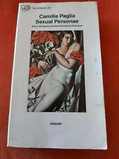 Camille Paglia,Sexual Personae.Einaudi,1993 BUONE CONDIZIONI