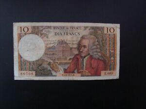 10  FRANCS  VOLTAIRE  1971   E 685