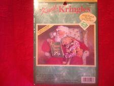 "Bucilla Kwik & Easy Kringles Pre-Print Cross Stitch Kit ""A Christmas Story"" NIP"