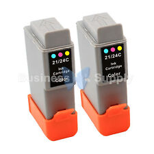 2 COLOR BCI-24 NEW Ink for Canon PIXMA MP130 iP1500 iP2000 MultiPASS MP360 F20