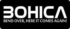 B.O.H.I.C.A Hard Hat / Biker Helmet Sticker BS 689