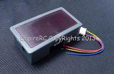3.5 Digit Digital LED AMP Current Panel Meter (DC 12V) (10A) (Blue Color)
