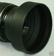 77mm Havy Duty Lens Hood Nikon 80-400mm VR 80-400 sigma 10-20mm 3.5