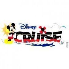 Disney Dimensional Stickers - Disney Cruise Title Wave  #821