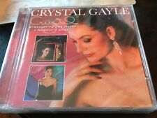 Straight to the Heart & Nobody's Angel 2 on 1 Crystal Gayle CD NEW Out Of Print