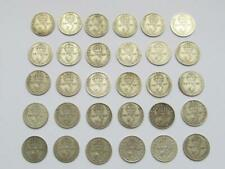 More details for 30 x good george vi pre 1947 silver threepences all dated 1920 - all collectable
