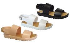 WHOLESALE LOT 24pr Girls Open Toe double Band Slingback Platform Sandals-Vicki