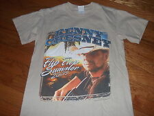 """Kenny Chesney """"Flip Flop Summer tour"""" 2007 Us tour shirt Adult Small"""