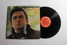 JOHNNY CASH The World Of LP Columbia GP-29 US VG++ 306 LABELS 12H