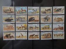 Botswana Wildlife Animals Complete Set MNH