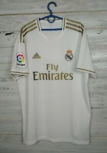 Real Madrid Jersey 2019 2020 Home LARGE Shirt Adidas DW4433