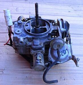 CARBURETOR ENGINE 4ZD1 ISUZU CAMPO TFS PICK UP UTE MODEL 1988 02 USED TESTED