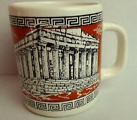 Greek Parthenon Souvenir Coffee Mug Made in Greece