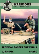 Warriors 1:35 Tropical Panzer Crew No.2 - 2 Resin Figures Kit #35161