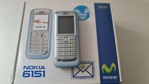 Nokia 6151 - Blue (Unlocked) Mobile Phone