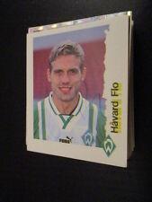 C-05 Havard Flo Werder Bremen original signiert Panini Sammelbild 90er