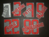 KIT NOME+NUMERO UFFICIALE AC MILAN HOME/AWAY 2008-2009 official nameset