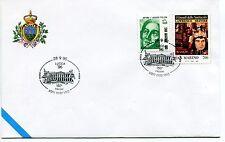 1996-09-28 San Marino Lucca '96 150° stazione ANNULLO SPECIALE Cover